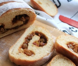 消耗干果的好办法----红糖果仁面包