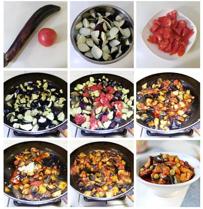 [番茄烧茄子]不一样的搭配,不一样的美味。