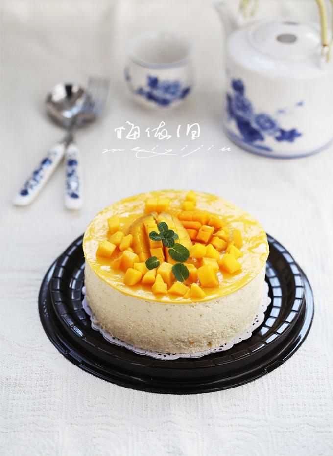 无法婉拒的吸引——芒果慕斯蛋糕