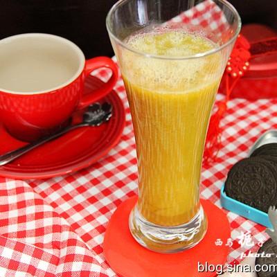 清凉甘甜清热去火的---雪莲芒果汁