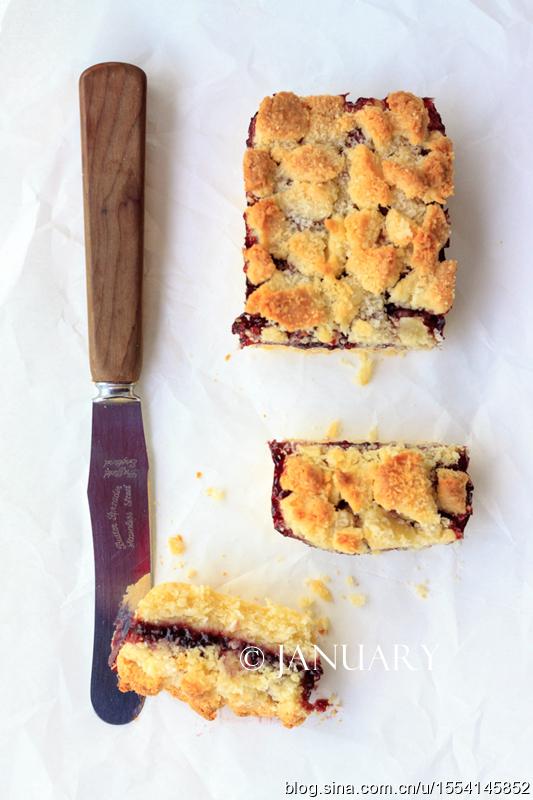 【椰香果酱软酥饼】下午茶必备的甜点