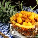 菠萝季不可错过的一道经典菜---菠萝鸡球