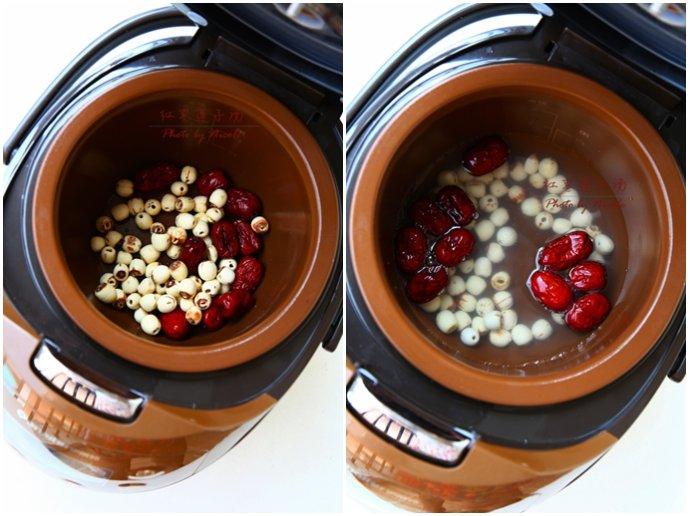 最简单最滋润的养颜汤:红枣莲子汤