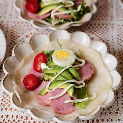 果蔬卷饼 营养又美味的小清新早餐