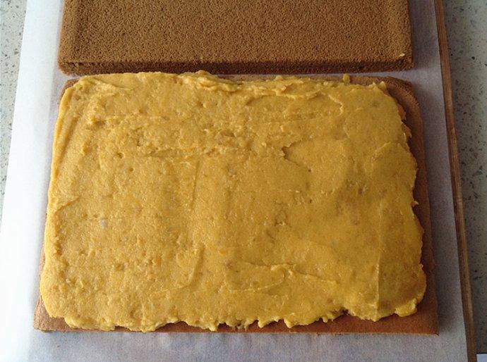低热量果仁夹馅蛋糕让你解馋不长肉