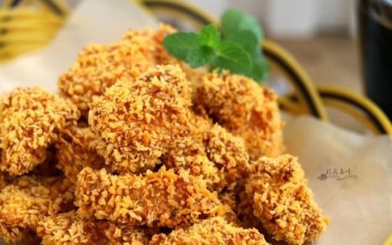 空气炸锅鸡米花