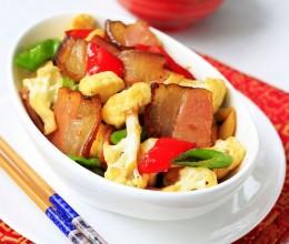 春季最爱的腊肉家常菜,腊肉炒花菜