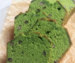 美貌与美味并存的----抹茶红豆磅蛋糕