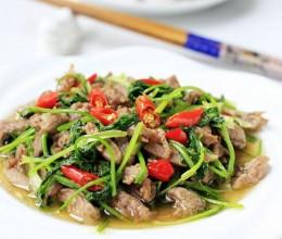 无膻味羊肉做法,香菜炒羊肉