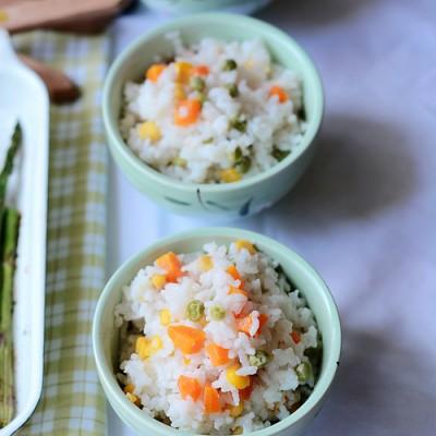 什锦豌豆饭VS金银红枣饭豌豆季不能错过的营养主食