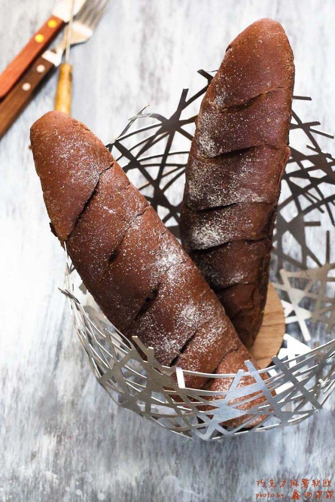 风靡日韩,好吃没朋友-----巧克力麻薯软欧