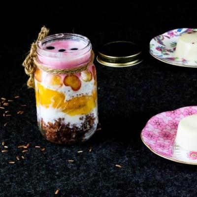 #越吃越FIT#出众撩妹实力派--红米酸奶杯