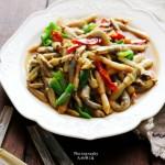 高蛋白好吃不长肉——蚝汁竹节蛏