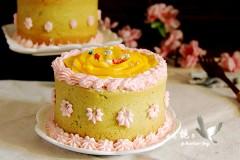 颜值高,营养大的菠菜奶油蛋糕杯