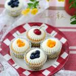 【奶油水果纸杯蛋糕】0裱花难度打造高颜值纸杯蛋糕