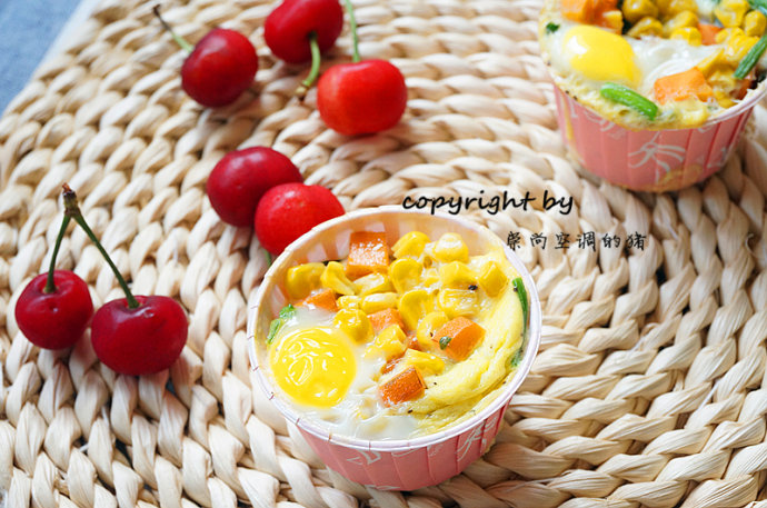 早餐鸡蛋杯——十分钟快手营养早餐