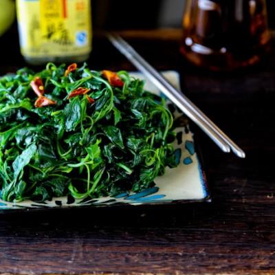 夏天清热解毒的宝物---双椒灰灰菜