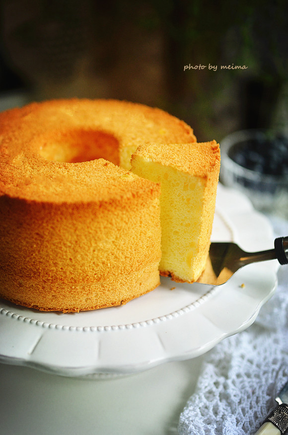酸奶戚风蛋糕