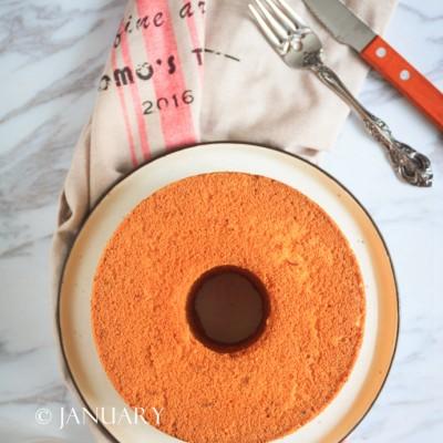 【香橙戚风蛋糕】好吃得停不了口