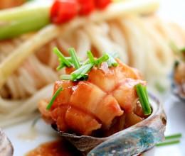 葱油鲍鱼拌面|肚子饿不饿下面给你吃