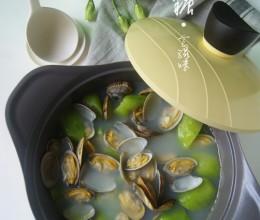 【丝瓜蛤蜊黄骨鱼汤】适合夏季的清补汤