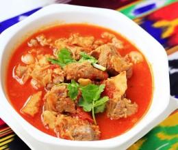 老少皆宜好吃停不下来的西红柿炖羊肉