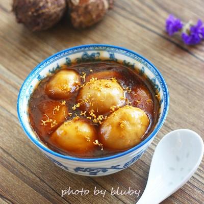 桂花糖芋苗——软糯香甜的金陵传统小吃