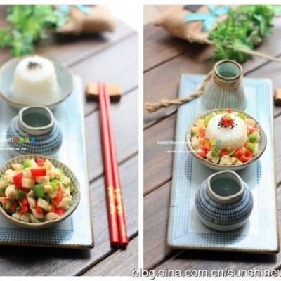 双椒鸡丁--开胃低卡肉肉菜