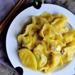 黄金虾仁饺子-鲜嫩多汁一口下去惊喜连连