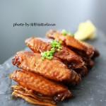 快手家宴菜一招搞定好吃鸡翅——【可乐姜焖鸡翅】