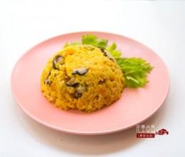 【南瓜奶酪焖饭】风味独特的快手美食