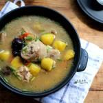 栗子燉雞湯