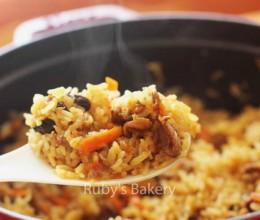新疆第一抓饭:羊肉抓饭