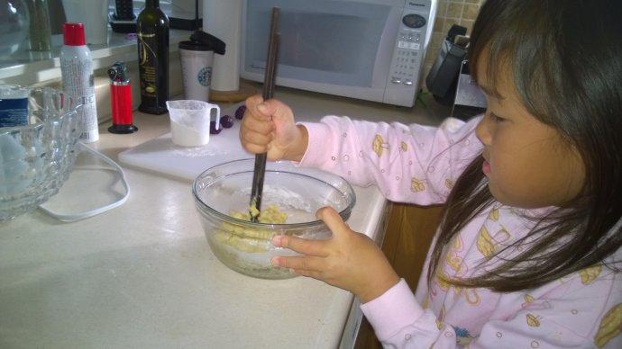 感恩节,和孩子们一起烤COOKIE