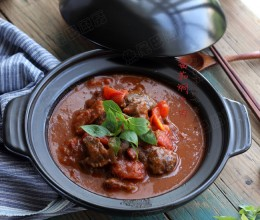 番茄焖牛肉全家人都喜欢的菜