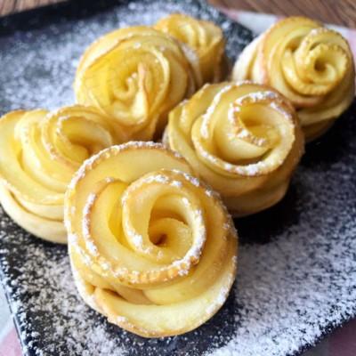 做美食为孩子带来快乐——苹果玫瑰花制作