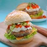 让人胃口大开的【番茄莎莎酱鸡腿汉堡】(24图详解)