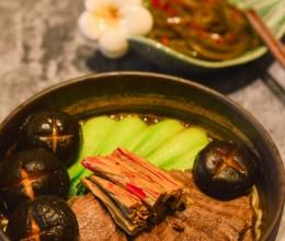 【红烧牛肉面】煮一碗泡面袋上的效果图