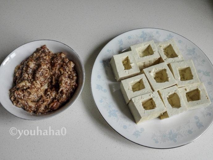 不用油的炸豆腐盒子,无油低脂更健康