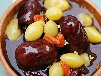 生姜红枣糖水、山楂桂枝红糖汤