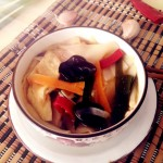 陕西特色美食——旗花面