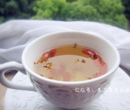 【冰糖枸杞桂花茶】丹桂飘香季
