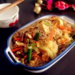 香軟可口的河南農家菜——炒紅薯粉條