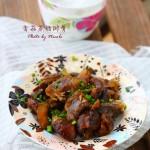 腊味飘香的应季大菜:香菇蒸腊排骨