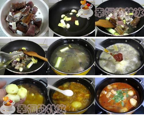 腊排骨炖小土豆
