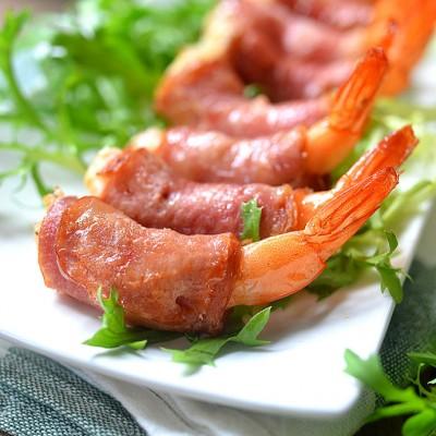 培根虾卷--10分钟做道高颜值的宴客菜