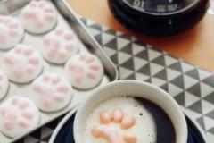 猫爪棉花糖(不用蛋清也能做棉花糖哦~)