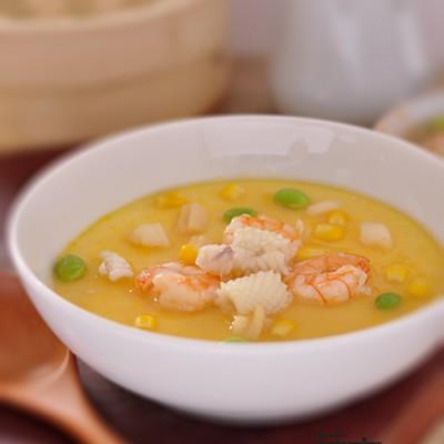 鮮嫩海鮮蒸蛋:滿滿都是寵愛啊!