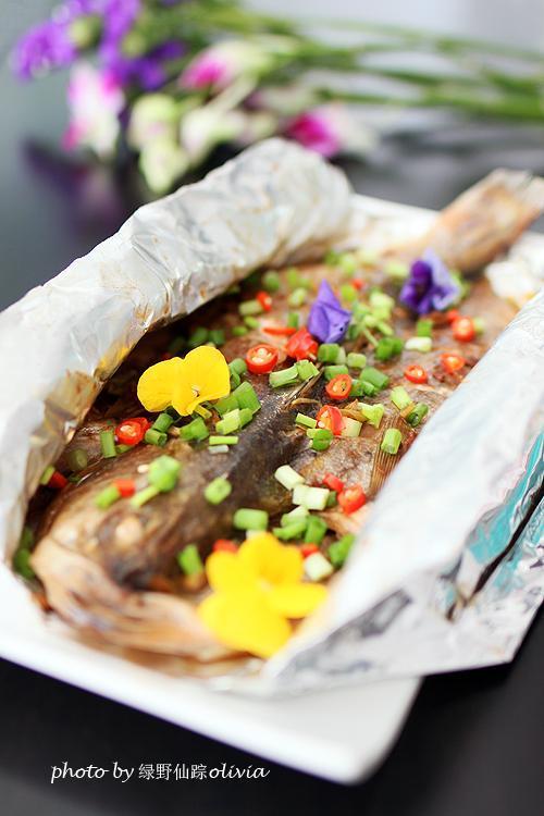 锡纸包鲈鱼