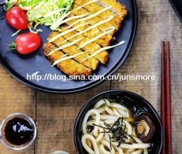 日式炸猪排&乌冬面,一顿美味大餐轻松打造|利仁特约食谱